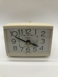 Vintage Westclox Clock Electric Alarm Works Perfect Made in USA Model 22190