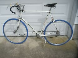 Bicycle Peugeot Mens Vintage1970's White Px-10 98 Two Sets Of Rims One Mounted