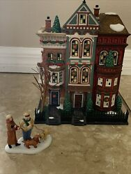 Department 56. Christmas In The City. East Village Row Houses. 59266.