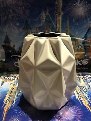 Disney Parks 2021 Epcot Spaceship Earth Light Collection Ceramic Vase - New