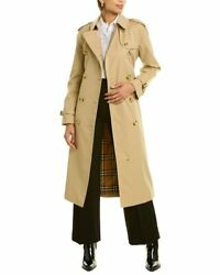 Waterloo Heritage Long Trench Coat Womenand039s Brown 10