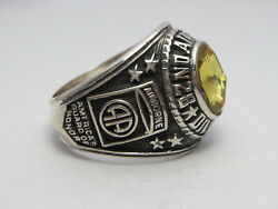 @ Silver 925 , 82nd Airborne Ring , America's Guard Honor , Army Ring,size 9.75