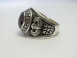 @ Silver 925 , 82nd Airborne Ring , Americas Guard , Army Ring , Us Size 10.5