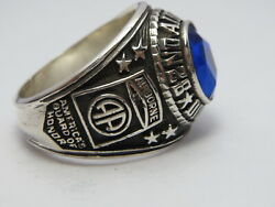 @ Silver 925 , 82nd Airborne Ring , America's Guard Honor , Army Ring,size 10