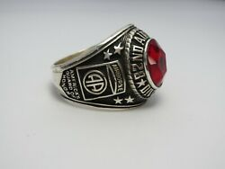 @ Silver 925 , 82nd Airborne Ring , Americas Guard , Army Ring , Us Size 14