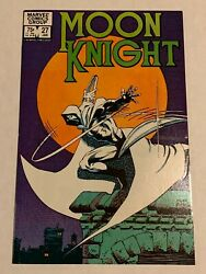 Moon Knight 27 Nm 1983 Direct Sales Frank Miller Cover Marvel Comics