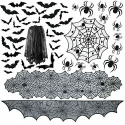 6pack Halloween Tablecloth Halloween Fireplace Mantel Scarf And Round Table