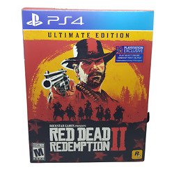 Red Dead Redemption 2 Ultimate Edition Ps4 Complete W/ Map / Dlc Has Been Redeem