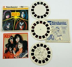 View Master Gaf Kiss Rock Band Special Subjects Concert 3 Reels Packet