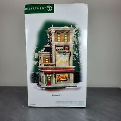 Dept 56 Christmas In The City - Woolworth's Store 59249 Very Rare - New In Box