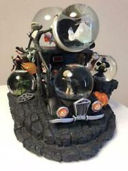 Disney 10th Anniversary Nightmare Before Christmas Snow Globe Dome Part Missing