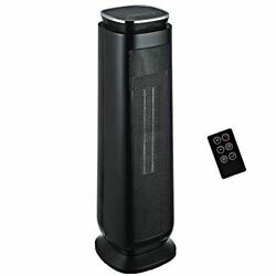 Portable Electric 1500w Ceramic Tower Space Heater With Adjustable Thermostat