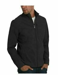 New Orvis Menand039s Lightweight Water Resistant Nylon Jacket Black Large