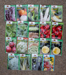 Lot Of 19 Seed Packs Assorted Burpee Vegetable Seeds, Packed For 2020