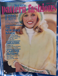 Vintage Mccalls Pattern Fashions Sewing Is Sexy Magazine Spring 1973