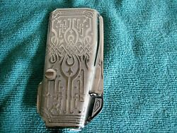 One Original Ornate Scroll Face Plate Singer Featherweight Parts