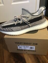 Adidas Yeezy 350 Boost V2 Zyon Size Mens 12 Fz1267 New Ds 100 Authentic In Hand