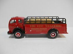 First Gear 1953 White 3000 With Stake Body Big Red Trucking 1/34 Scaleandnbsp