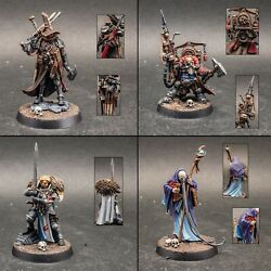 Fully Assembled And Pro Painted Warhammer Quest Cursed City Board Game
