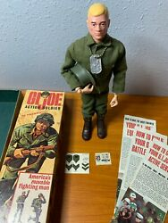 1964 Vintage Gi Joe - Action Soldier - Complete In Box