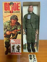 1964 Vintage Gi Joe - Action Soldier - Triple Tm / First Edition Complete In Box