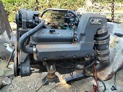 Omc Gm 305 Complete Motor ,turnkey W/cobra Outdrive, Sell Together Or Separate.