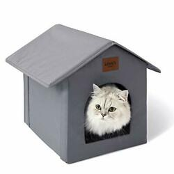 Outdoor Cat House Weatherproof for Winter Collapsible Warm Cat Houses For Indoor