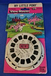 Vintage Mlp My Little Pony Tv Show Cartoon Or Movie View-master Reels Pack Open