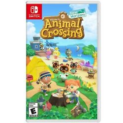 Animal Crossing: New Horizons Nintendo Switch Includes Case and Cartridge
