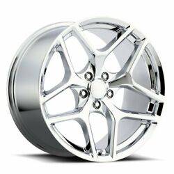 Factory Reproductions Fr 27f Z28 Camaro 20x10 5x120 Offset 23 Chrome Qty Of 4