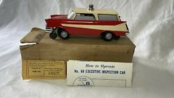 Lionel No 68 Executive Inspection Car With Original Box And Instructions