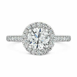 0.80 Ct Real Diamond Anniversary Rings For Black Friday 14k White Gold Size 5 6