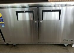 2 Door Commercial Refrigerator Under Counter Working Condition Used