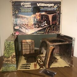 Vintage Mego Planet Of The Apes Village Playset Near Complete
