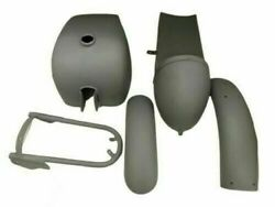 Royal Enfield Cafe Racer Body Parts Tank + Seat Hood + Fender