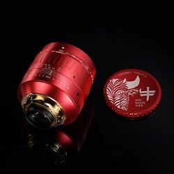 Ttartisan 50mm F0.95 Red Ox Asph Limited Lens For Leica M M6 M7 M8 M9 M10 Mm240