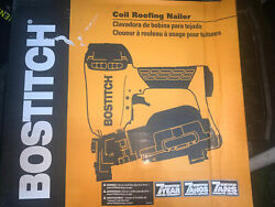 Bostitch Rn46-1 Coil Roofing Nailer120 Magazine, 15° Collation - New
