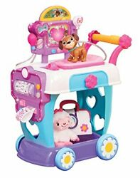 Doc Mcstuffins Toy Hospital Care Cart, Lights And Sounds Doctor Pretend Play
