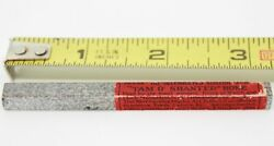 Vintage 3x1/4 Tam Oand039 Shanter Natural Scotch Hone Sharpening Stone Watchmaking