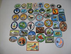 1975 -2017 Michigan's Dnr Living Resource Patches Complete Set- Deer-bear-