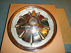 1964 Chevy Corvette Nos Three Bar Spinner Hubcap Wheel Cover 1 Only 3843387 Read