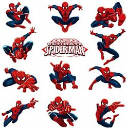 Spiderman Wall Decals Spiderman Stickers For Wall For Boys Bedroom