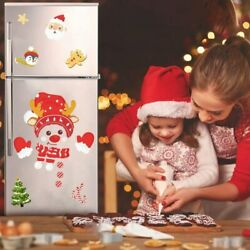 Christmas Decorative Wall and Refrigerator Mounting Stickers Brand New 2022