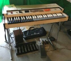 Farfisa Compact Fast 4 Combo Organ 1968 Pre-owned