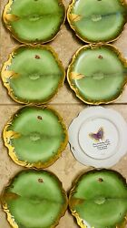 Anna Weatherley Ivy Garland Collection Bread/hors-dand039oevre Plates Set Of 8