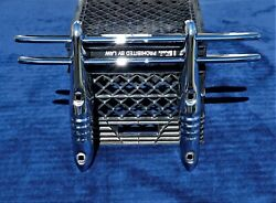🔥 Nos 30and039s 40and039s Car Truck 2 Bar Chrome Grill Bumper Guard Chevy Ford Dodge Nice