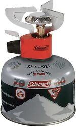 Coleman Peak 1 Backpacking Stove And 220g Isobutane Fuel Camping Hiking Survival $59.99