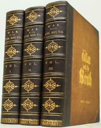 1866 The War With The South Civil War Abraham Lincoln Csa Union Leather 12 Tall