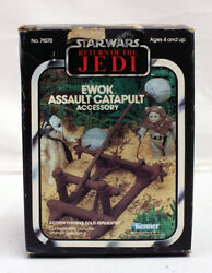 Vintage Kenner Star Wars Boxed Ewok Assault Catapult Accessory C9 C6 Box