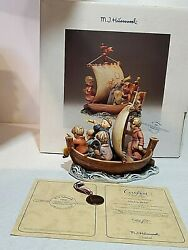 Hummel Limited Edition Figurine Land In Sight 12564 Of 30000 In Box 1992